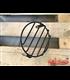 16cm 6.4 Inch Retro Grill chránič predného svetla SCR2