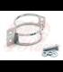 winker clamp, 2pcs., chromed, 55-58 mm, pair