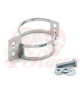 winker clamp, 2 pcs., chromed, 35-38 mm, pair