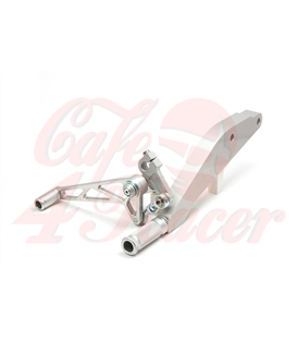 LSL Rearset Sportster - 03, silver