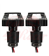 2PCS Motorcycle Handlebar LED Turn Signal Grip Bar End Lights