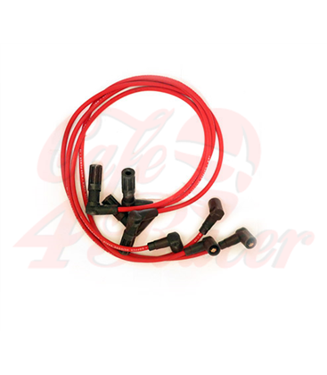 Premium Quality Spark Plug Wire Set for BMW K100 (4 Wires - longer than org.) 7mm