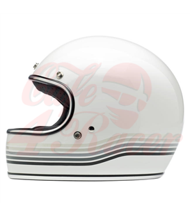 Biltwell Gringo Spectrum Helmet Full Face Gloss White