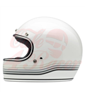 Biltwell Gringo Spectrum Helmet Full Face Gloss White