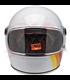 Biltwell Gringo S Helmet White Tri-Stripe
