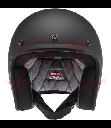 Biltwell Bonanza Helmet Open Face Flat Black matte