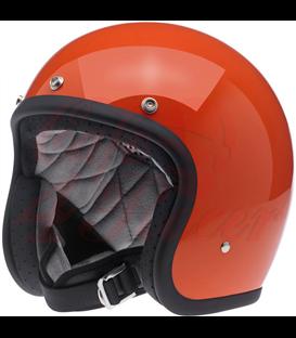 Biltwell Bonanza helma otvorená lesklá hazard oranžová