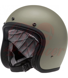 Biltwell Bonanza helma flat titanium