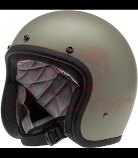 Biltwell Bonanza Helmet Flat Titanium