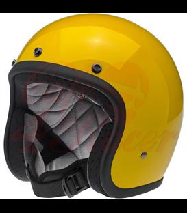Biltwell Bonanza Helma Safe-T Yellow