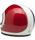 Biltwell Gringo Tracker Helmet Full Face Red White Blue