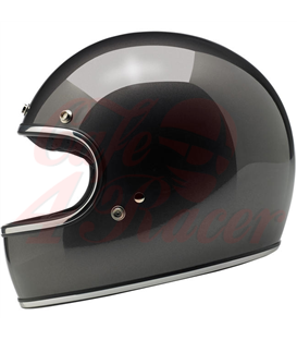 Biltwell Gringo Helmet Full Face Charcoal Metallic