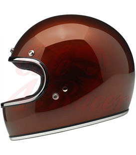 Biltwell Gringo Helmet Brite Silver MF