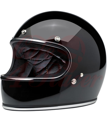 Biltwell Gringo helma integrálna lesklá čierna