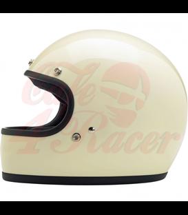 Biltwell Gringo helma integrálna lesklá vintage biela