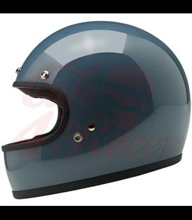 Biltwell Gringo Helmet Full Face Gloss Baja Blue