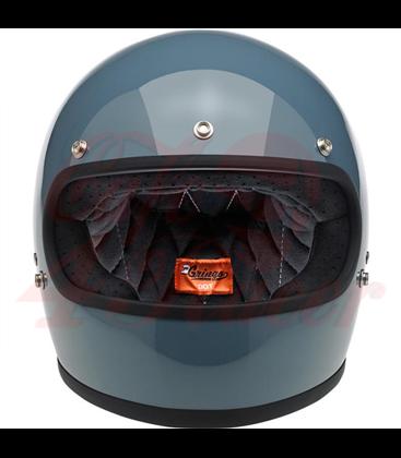 Biltwell Gringo helma integrálna lesklá Baja modrá