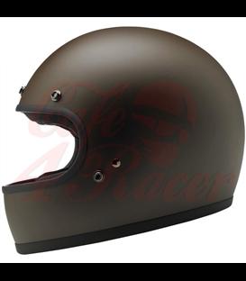 Biltwell Gringo Helmet Full Face Flat Chocolate