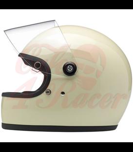 Biltwell Gringo S helma integrálna lesklá vintage biela