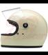 Biltwell Gringo S Helmet Full Face Gloss Vintage White