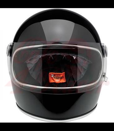 Biltwell Gringo S helma integrálna lesklá čierna