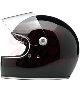 Biltwell Gringo S Helmet Full Face Gloss Black