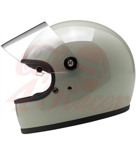 Biltwell Gringo S Helmet Full Face Gloss Polar Green