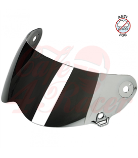 Biltwell Lane Splitter Shield Chrome Mirror