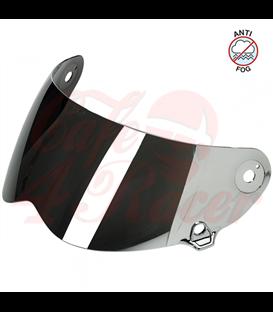 Biltwell Lane Splitter Shield štít chrom zrkadlový