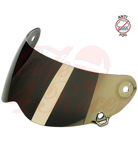 Biltwell Lane Splitter Shield Gold Mirror