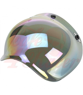 Biltwell Bubble Shield Rainbow Mirror