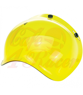 Biltwell Bubble Shield Yellow Anti Fog