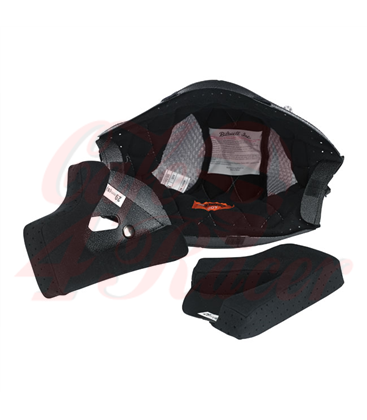 Biltwell Gringo vložka do helmy čierno šedá