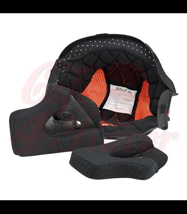 Biltwell Gringo Helmet Liner Black Orange