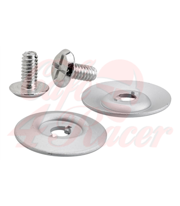 Biltwell Gringo S Hardware Kit Silver