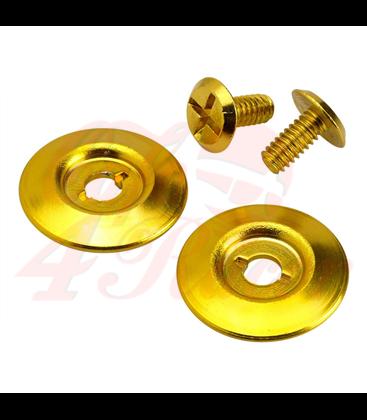 Biltwell Gringo S Hardware Kit zlatý