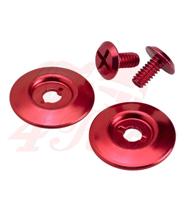 Biltwell Gringo S Hardware Kit Red
