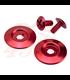Biltwell Gringo S Hardware Kit červený