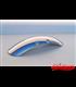 LSL Clubman Univerzálny predný/zadný Scrambler hlinnikový blatník 120mm x 410mm Aluminium