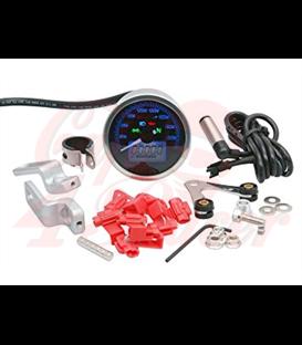 KOSO Digitálny multifunkčný rýchlomer TNT D64 Custom Style