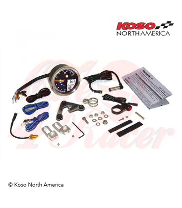 KOSO Digital Multifunction Cockpit, TNT-04 Tachometer