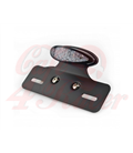 Rear Light LED CR4 Led taillight with plate holder - Black & Smoke