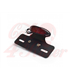 Rear Light LED CR4 Led taillight with plate holder - Black & Red