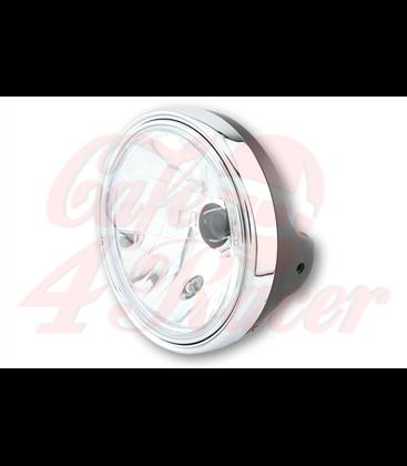 SHIN YO LTD Hlavný svetlomet 7 inch, čierna matná