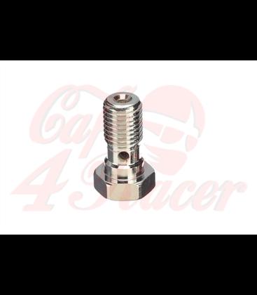 ABM hollow screw Alu M10 x 1,0, chrom