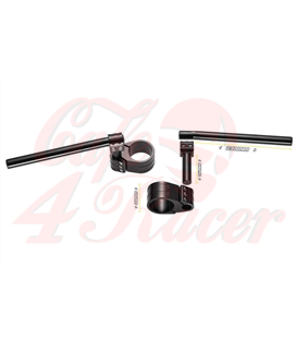 probrake REVO clip-on handlebars, 55 mm, for var. motorcycles
