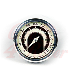 motogadget analogue speedo motoscope tiny speedster, polished