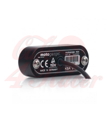 Motogadget Motoscope, speedo/tachometer black