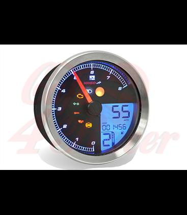 KOSO HD-01 Sportster 883 Tachometer, black