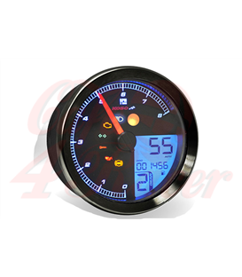Terrific Universal Digital Lcd Speedometer Sp1 Cafe 4 Racer Wiring 101 Capemaxxcnl
